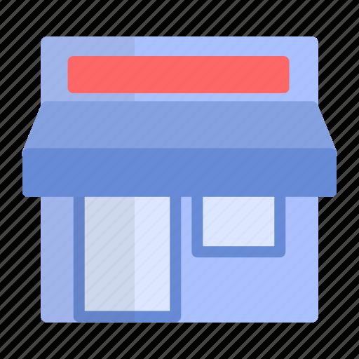 local, shop, store icon