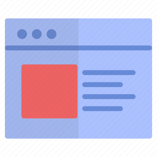 browser, online, shopping, website icon