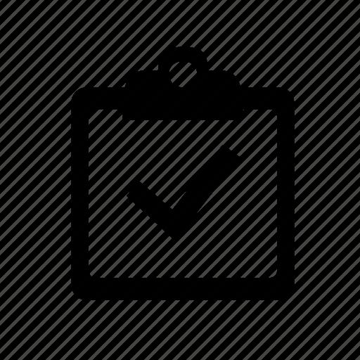 checklist, clipbaord, quickscan icon