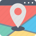 find, gps, location, map, navigation, pin, search icon