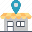 local, market, place, location, region, shopping, store icon