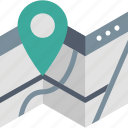 find, gps, location, map, navigation, pin, pointer icon
