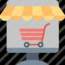 buy, cart, computer, internet, online, shop, store icon