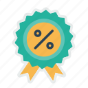 award, badge, ecommerce, finance, medal, profit, winner icon