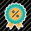 award, badge, ecommerce, finance, medal, profit, winner icon