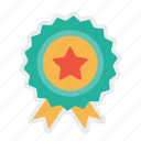 award, badge, bookmark, favourite, like, medal, star icon