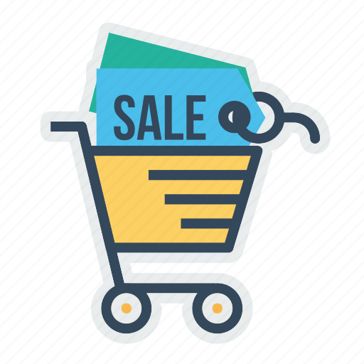 cart, discount, ecommerce, offer, sale, shop, shopping icon