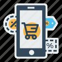 label, mobile, offer, online, sale, store, tage
