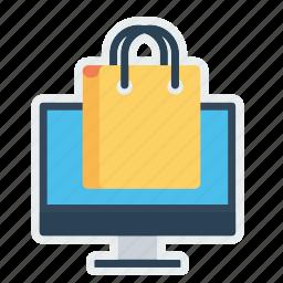 bag, carrybag, cart, handbag, sell, shop, shopping icon