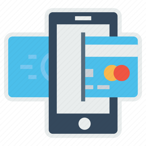 card, credit, debit, mobile, online, payment, transaction icon