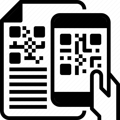 code, mobile, payment, qr, scan icon