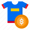 ecommerce, money, online, shirt, shopping