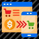 cart, ecommerce, mobilephone, shop, shopping