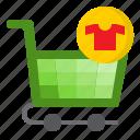 buy, cart, ecommerce, online, shirt, shopping