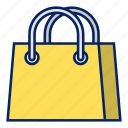 e-commerce, retail, online shopping, bag, goody icon