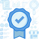 accept, approve, complete, confirm, ecommerce, medal, ribbon