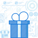 box, ecommerce, gift, money, package, present, shopping