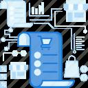 checklist, discount, ecommerce, list, receipt, sale, shopping icon
