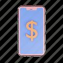 e-commerce, shopping, smartphone, finance, dollar, money, business