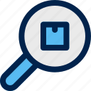 search, products, magnifier, find, product details, zoom icon