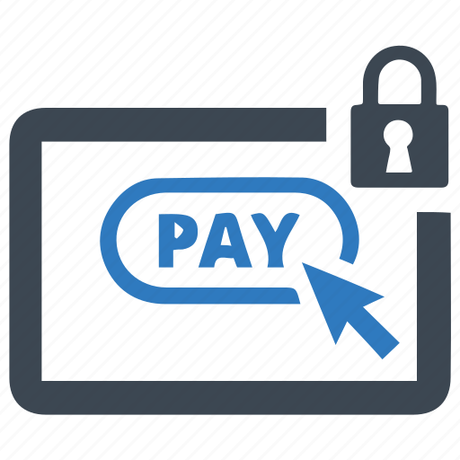 online, payment, secure icon