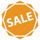 badge, discount, hot, label, sale, sticker icon