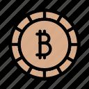 bitcoin, digital, currency, finance, money