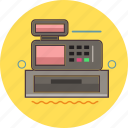 cashbox, cashier, finance, machine icon