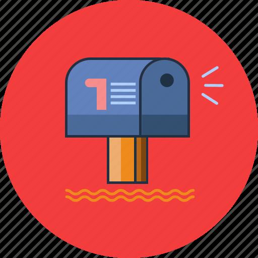 Inbox, mailbox, message icon - Download on Iconfinder