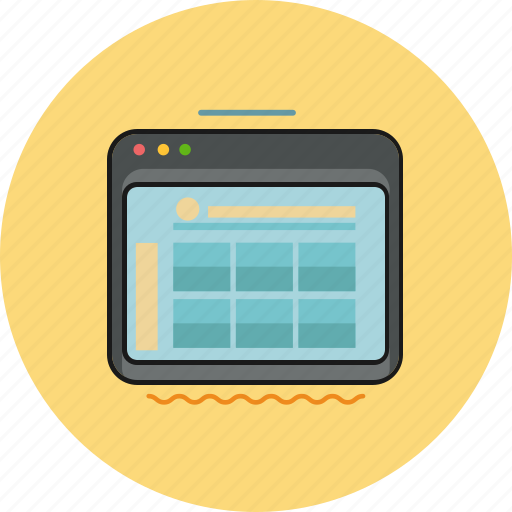 internet, marketing, online shop, tablet, website icon