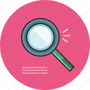 magnifier, search, searching icon