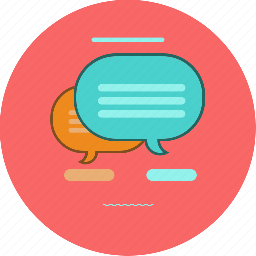 chat, message, speech buble icon