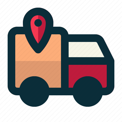 Logistics, tracking, delivery, shipping, transport icon - Download on Iconfinder