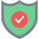 check, e-commerce, secure, security, security check, shield icon