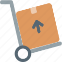 delivery, e-commerce, trolly icon