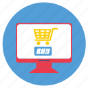 ecommerce, website icon