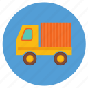 delivery, ecommerce, lorry, shipping, truck icon