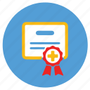 certificate, ecommerce, slip, warranty icon