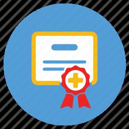 certificate, ecommerce, slip, warranty icon