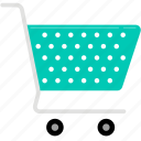 cart, shopping, super market, trolley icon