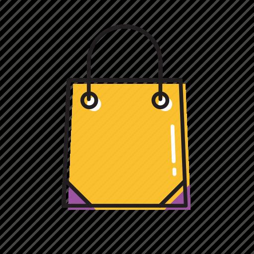 bag, box, shopping icon