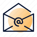 email, newsletter, online, service icon