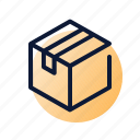 closed, delivery, package, shipping icon