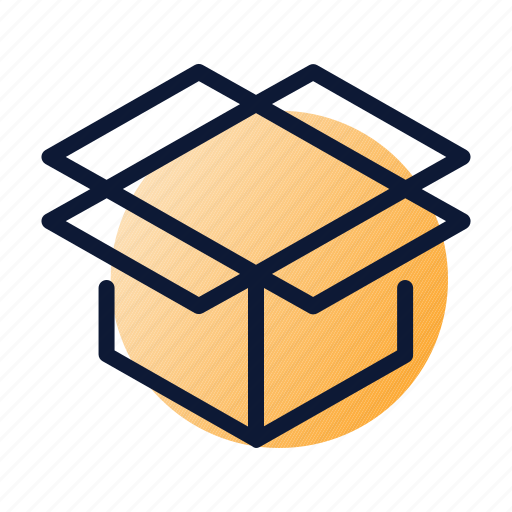 delivery, open, order, package, shipping icon