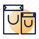bags, purchase, shopping icon