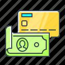 card, cash, money, options, payment, payment options
