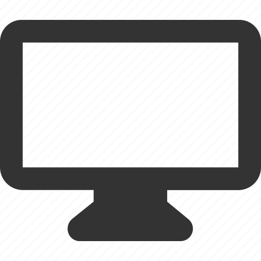 device, display, monitor, tv icon