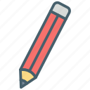 color, ecommerce, edit, pen, pencil, write icon