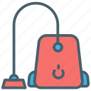 cleaner, color, ecommerce, hoover, vaccum icon