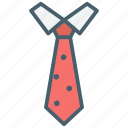 colar, color, ecommerce, fashion, tie, wear icon